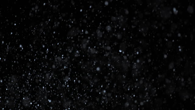 slo mo snow at night - snowing stock videos & royalty-free footage