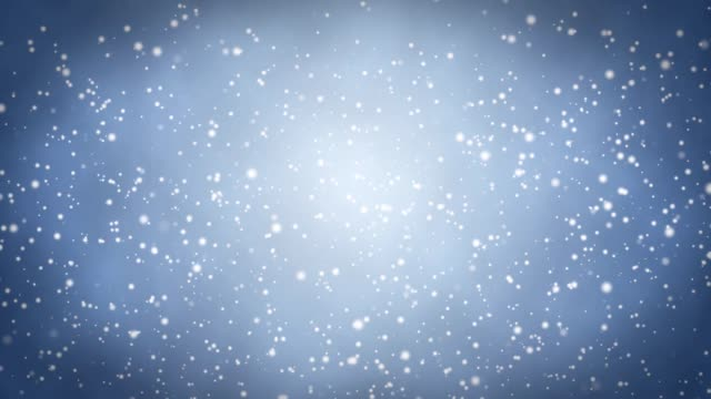 Snow background Blue