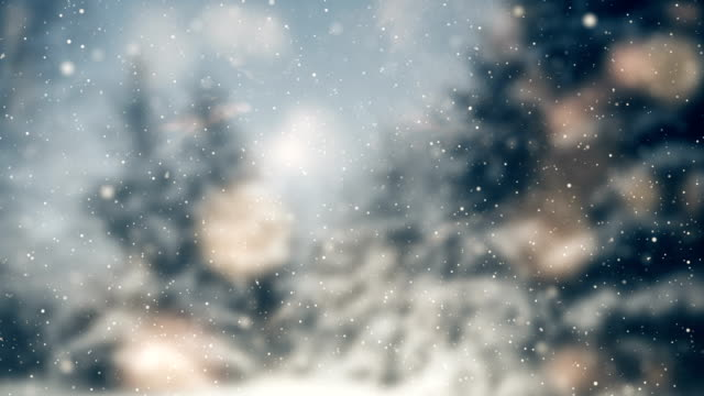 snow background | loopable - greeting card stock videos & royalty-free footage