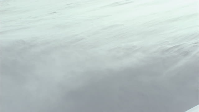 snow blizzard_daisetsuzan volcanic group in winter, hokkaid_ - snowcapped mountain stock videos and b-roll footage