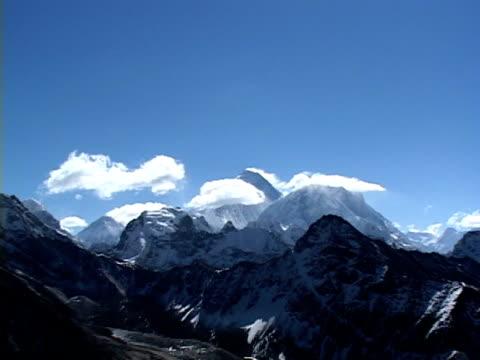zo, ws, snow capped himalaya mountains, katmandu, khumbu- himalaya, nepal - khumbu stock videos and b-roll footage