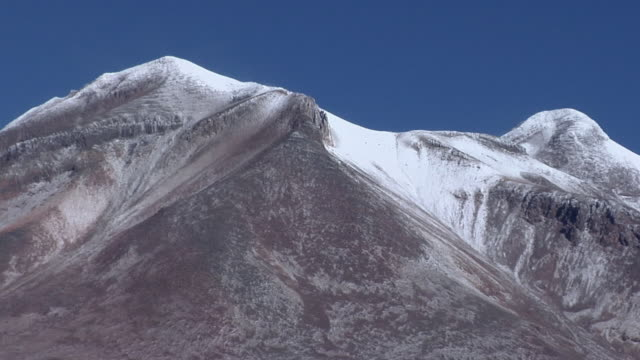 MS ZO Snow capped mountain, San Pedro de Atacama, El Loa, Chile