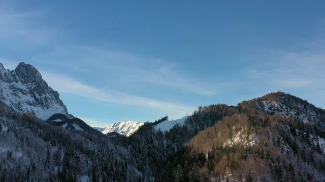 snow covered mountains - 北チロル点の映像素材/bロール