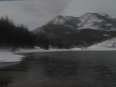 snow covers the slopes of mt. el dorado in utah. - utah stock videos & royalty-free footage