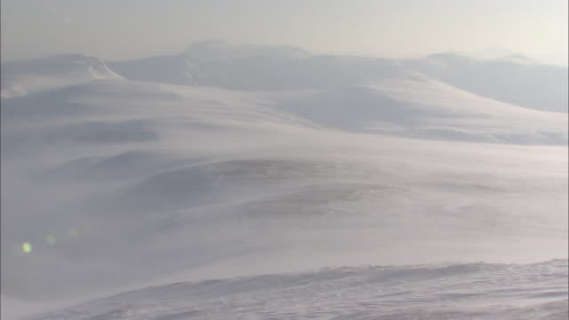 snow daisetsuzan volcanic group in winter, hokkaid_ - daisetsuzan volcanic group stock videos and b-roll footage
