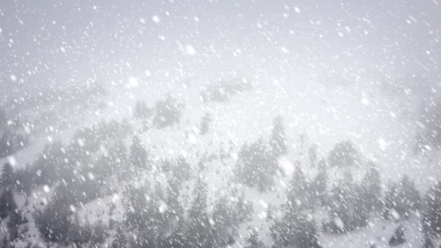 Snow Falling - Loopable