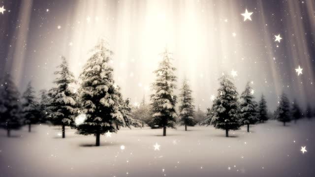 vídeos de stock, filmes e b-roll de neve caindo no natal - snow cornice