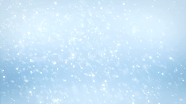 4k snow falling - north pole stock videos & royalty-free footage