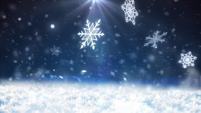 4 k schnee fällt - schneeflocken stock-videos und b-roll-filmmaterial