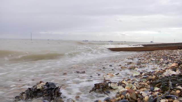 snow falls across the country / eastern england braced for storm surge; southend: federation of greenways school: 'closed' sign on closed gates of... - top of the pops stock videos & royalty-free footage