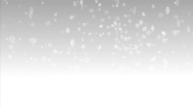 snow flakes background loop - christmas card stock videos & royalty-free footage
