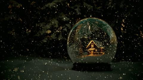 snöglob - 4k   loopable - snöflinga bildbanksvideor och videomaterial från bakom kulisserna