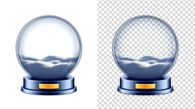 Snow Globe + Chroma Key + Snow Alpha