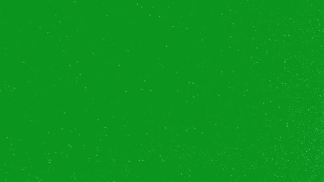 Snow Green Screen Loop