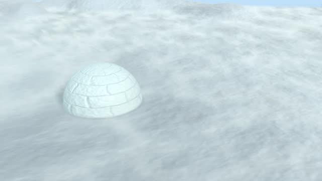 snow haze antartica - igloo stock videos & royalty-free footage