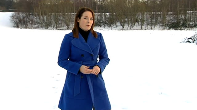snow in north of england causes travel disruption sheffield int alex burkill interview sot yorkshire ext people walking up snowcovered huillside with... - moving office stock videos and b-roll footage