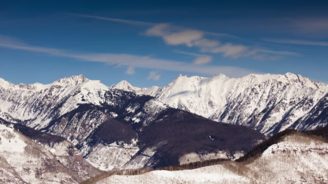 snow in the rocky mountains - time lapse - colorado stock videos & royalty-free footage