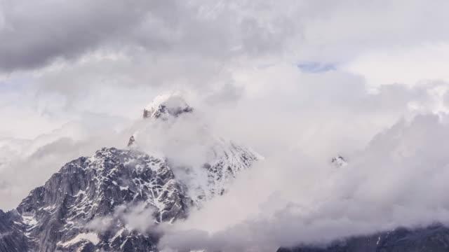 Snow Mountain Time Lapse