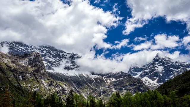 schneeberg; - kaukasus geografische lage stock-videos und b-roll-filmmaterial