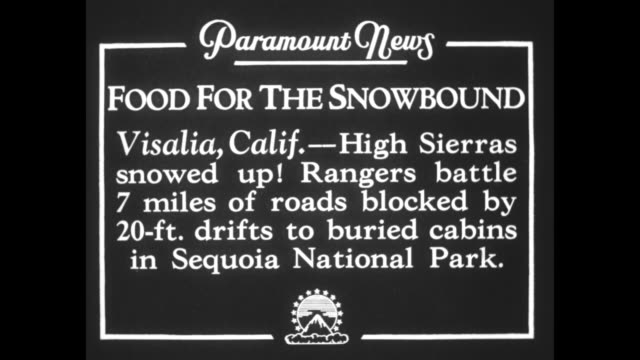 stockvideo's en b-roll-footage met vs snow plows moving large amounts of deep snow while clearing road / note exact month/day not known - sequoia national park