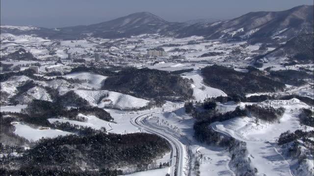 Snow Scene around the Hwanggye village