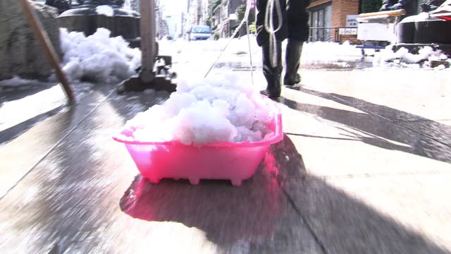 snow shoveling - kanto region stock videos & royalty-free footage