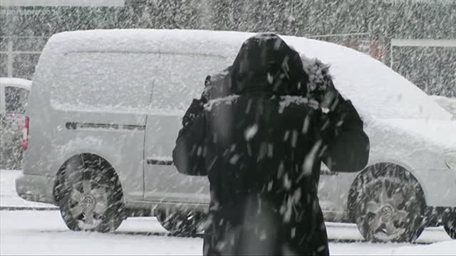 snow shower in england - weather stock videos & royalty-free footage