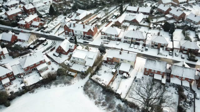 snow storm - england stock videos & royalty-free footage