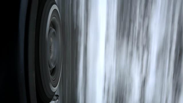 Snow tire.