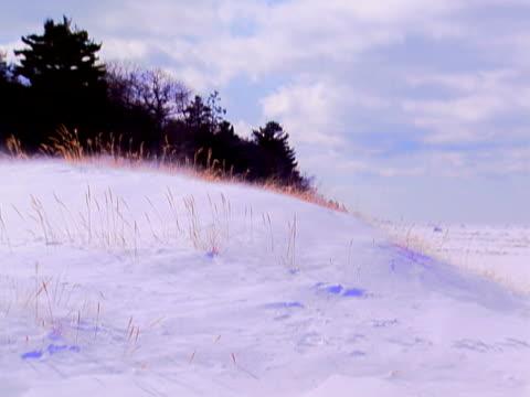 stockvideo's en b-roll-footage met snow - watervorm