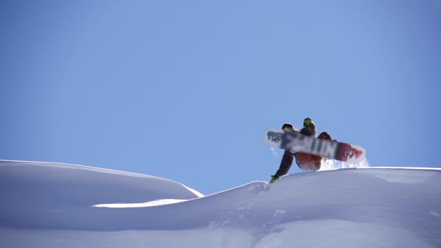 Snowboarder non flip