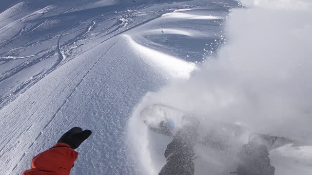 Snowboarders point of view