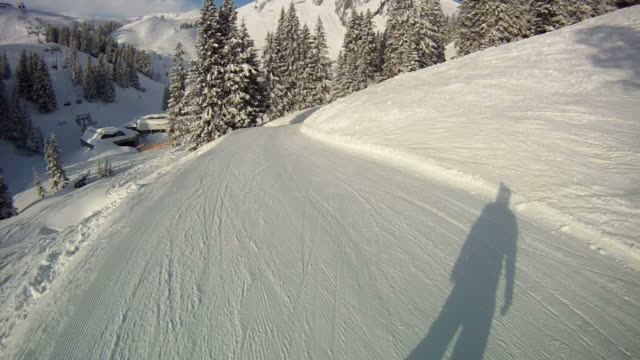 snowboarding - snowboarding stock videos and b-roll footage
