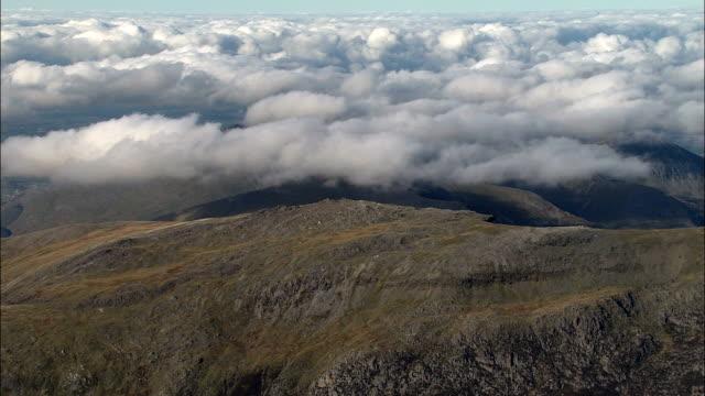 Snowdonia  - Aerial View - Wales, Caernarfonshire and Merionethshire, United Kingdom