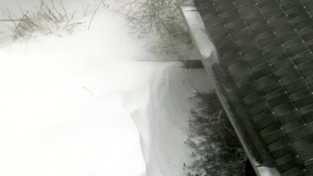Snowdrift, timelapse