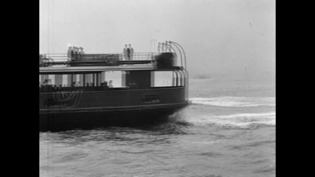 snowdrop ferry at seacombe 1901 - liverpool england stock-videos und b-roll-filmmaterial