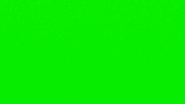 snowfall on green screen - green stock videos & royalty-free footage