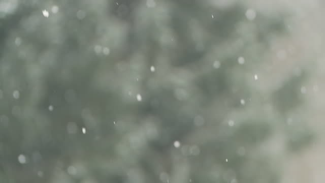 HD SLOW MOTION: Snowfall