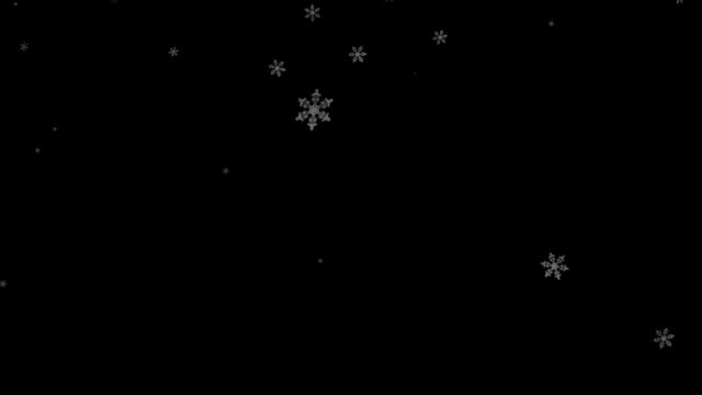 snowfall - snowflake stock videos & royalty-free footage