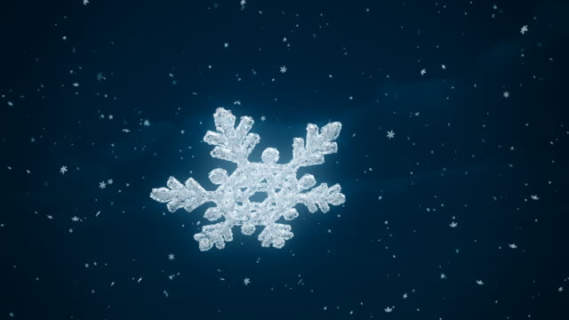 Snowflake - 4K | Loopable
