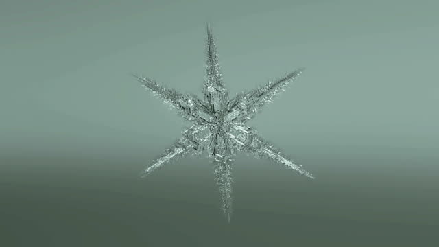 snowflake forming  background - snowflake stock videos & royalty-free footage