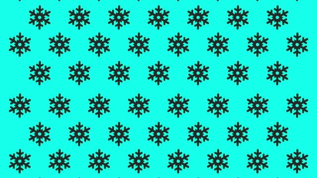 snowflake icons - vector animate - snow chroma key stock videos & royalty-free footage