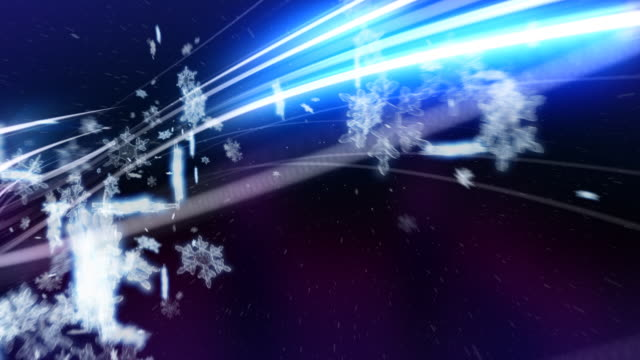snowflakes light strokes - wound stock videos & royalty-free footage