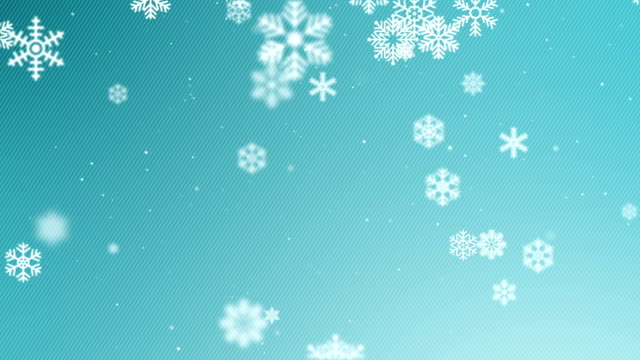 snowflakes winter background - illustration stock videos & royalty-free footage