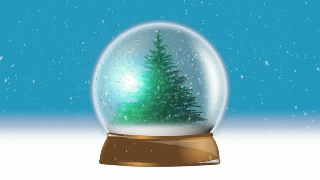 Snowglobe Christmas Tree