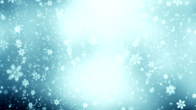 Snowing animation loop