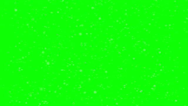 Snowing chroma key