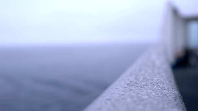 snowing in ship - greenland stock videos & royalty-free footage