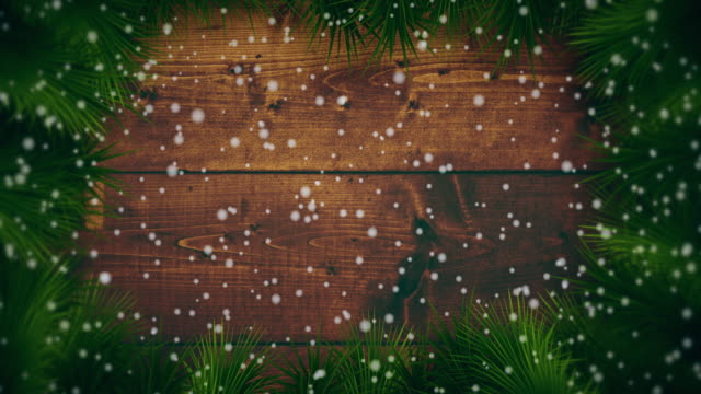 snowing on christmas backgrounds - christmas card stock videos & royalty-free footage