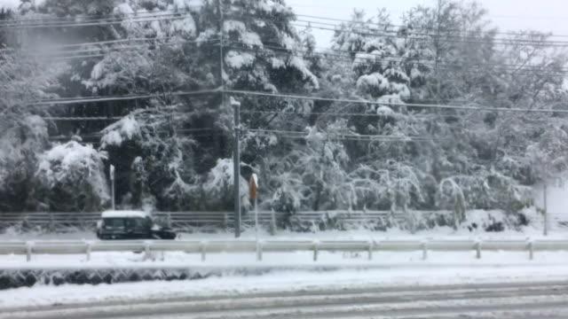 雪が降る Road